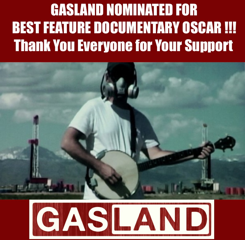 Gasland Nominated for An Oscar